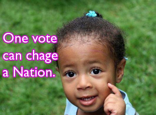 vote -