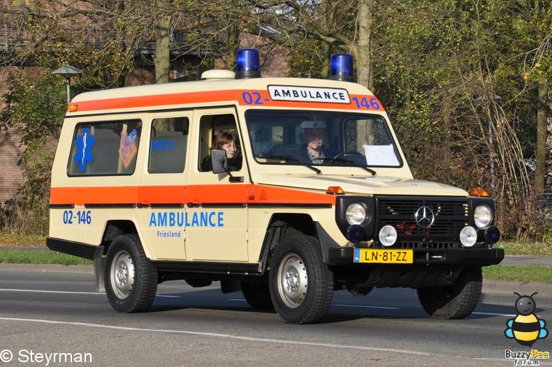 DSC 7938-border - Ambulanceoptocht UMC Utrecht 2011
