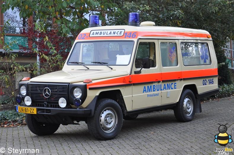 DSC 7973-border - Ambulanceoptocht UMC Utrecht 2011