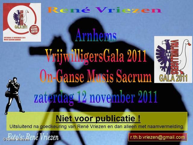 René Vriezen 2011-11-12#0000-1 Arnhems Vrijwilligers Gala 2011 On-Ganse Musis Sacrum zaterdag 12 november 2011