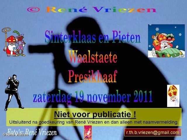 René Vriezen 2011-11-19#0000-6 Sinterklaas en Pieten in Waalstaete Presikhaaf zaterdag 19 november 2011