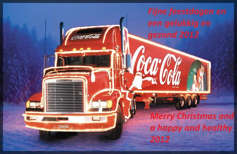 Coca Cola Christmas Truck Wallpapera-BorderMaker -