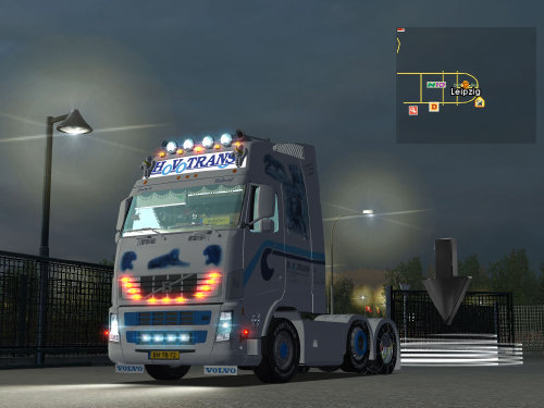 gts Volvo FH Predator of the Night 6x2 HoVoTrans b GTS TRUCK'S