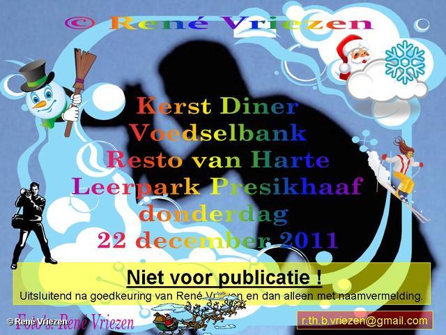 René Vriezen 22-12-2011 000 KerstDiner VoedselBank Resto van Harte Leerpark Presikhaaf donderdag 22 december 2011