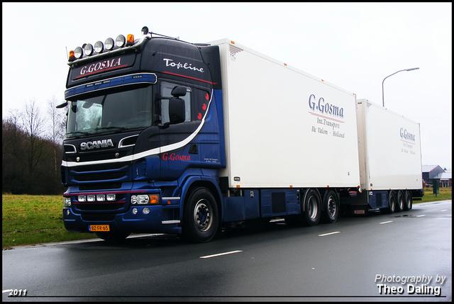 Gosma Int Transporten, G - de Valom Scania 2011