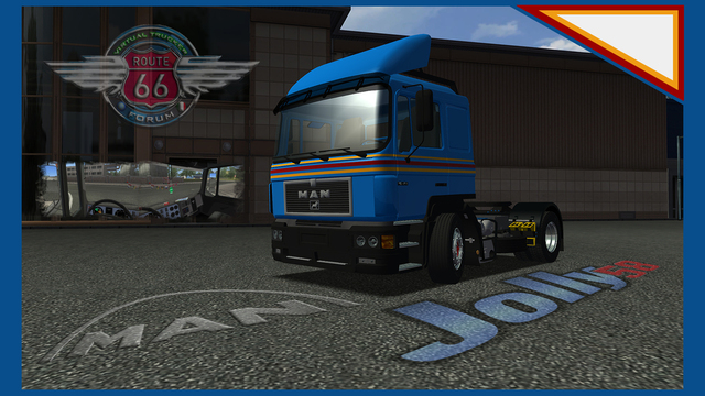 gts Man F2000 + interior by Jolly verv man A GTS TRUCK'S