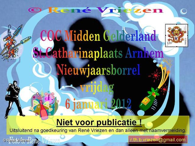René Vriezen 2012-01-06#0000 COC-MG NieuwJaarBorrel vrijdag 6 januari 2012