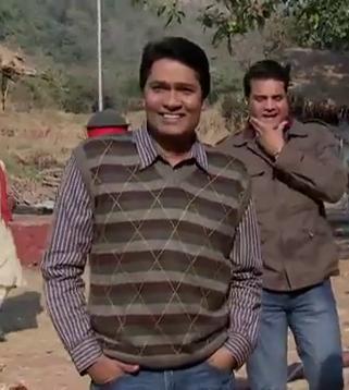 smiling abhi -