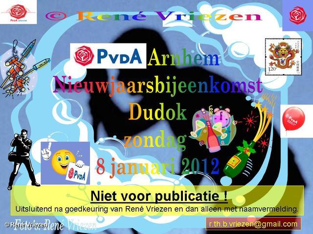 René Vriezen 2012-01-08#0000 PvdA Arnhem Dudok NieuwJaarsBijeenkomst zondag 8 januari 2012