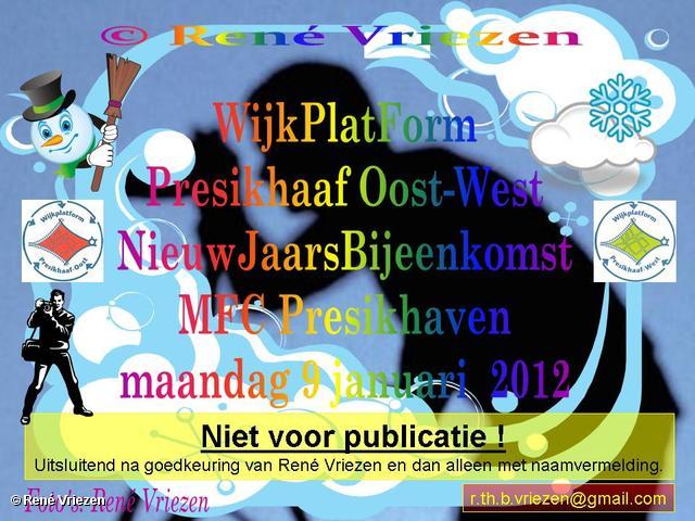René Vriezen 2012-01-09#0000 WijkPlatForm Presikhaaf Oost-West NieuwJaarsReceptie MFC Presikhaven maandag 9 januari 2012