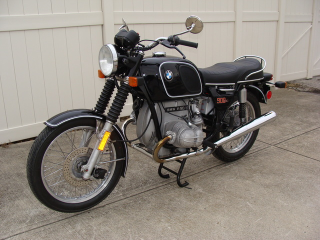 4962035 '75 R90-6 Black, 22 L SOLD......#4962035 1975 BMW R90/6, Black. 22 Ltr. Tank. Full Ground-up Inside-out Mechanical and Cosmetic Restoration.