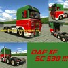 Haulin DAF-XF-SC-530 6x4 - Haulin