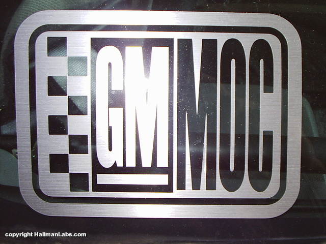GMMOC Decal Picture Box