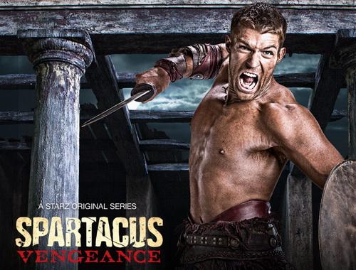 spartacus vengeance action 1280x800 Spartacus Vengeance 2×08 [HDTV] [Español Latino]