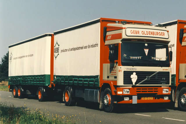 Oldenburger. Gebr - Veendam  VB-15-LB Volvo Eurotroter