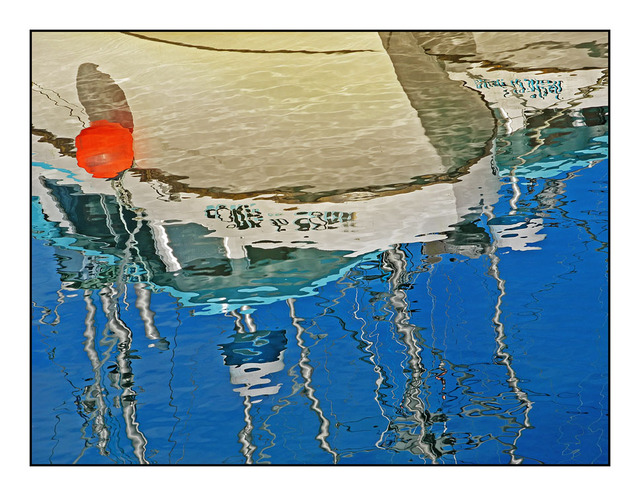 Boat Reflection 2012 Vancouver Island