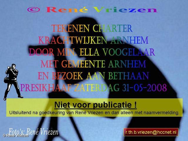 © René Vriezen 2008-05-31 #0000 Ondertekenen Charter Krachtwijken Min. Vogelaar en bezoek Bethaan Presikhaaf-2 31-05-2008