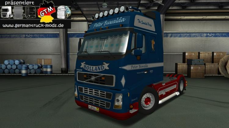 gts volvo fh 16 interieur peter buwalda by dadus