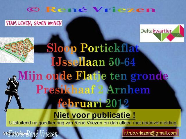 René Vriezen 2012-01-27#0000 Sloop Portiekflat IJssellaan 50-64 Presikhaaf 2 februari 2012
