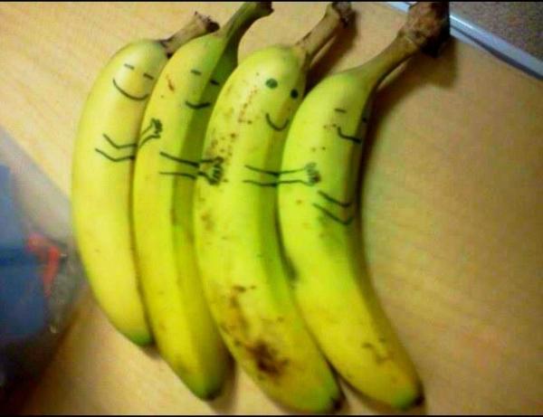 banaantjes vrijdagavondklets