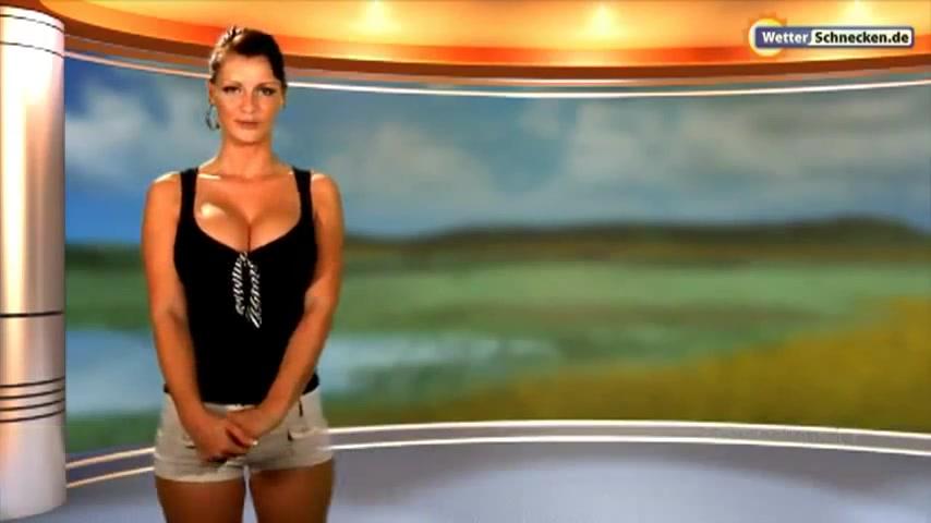 Heie Aussichten Wetterfee Anneke Drrkopp nackt im