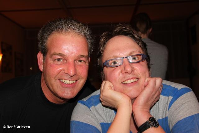 R.Th.B.Vriezen 2012 03 29 1831 Arnhems Fanfare Orkest Bruidspaar Theo en Bep 50 jaar Speciaal Concert donderdag 29 maart 2012