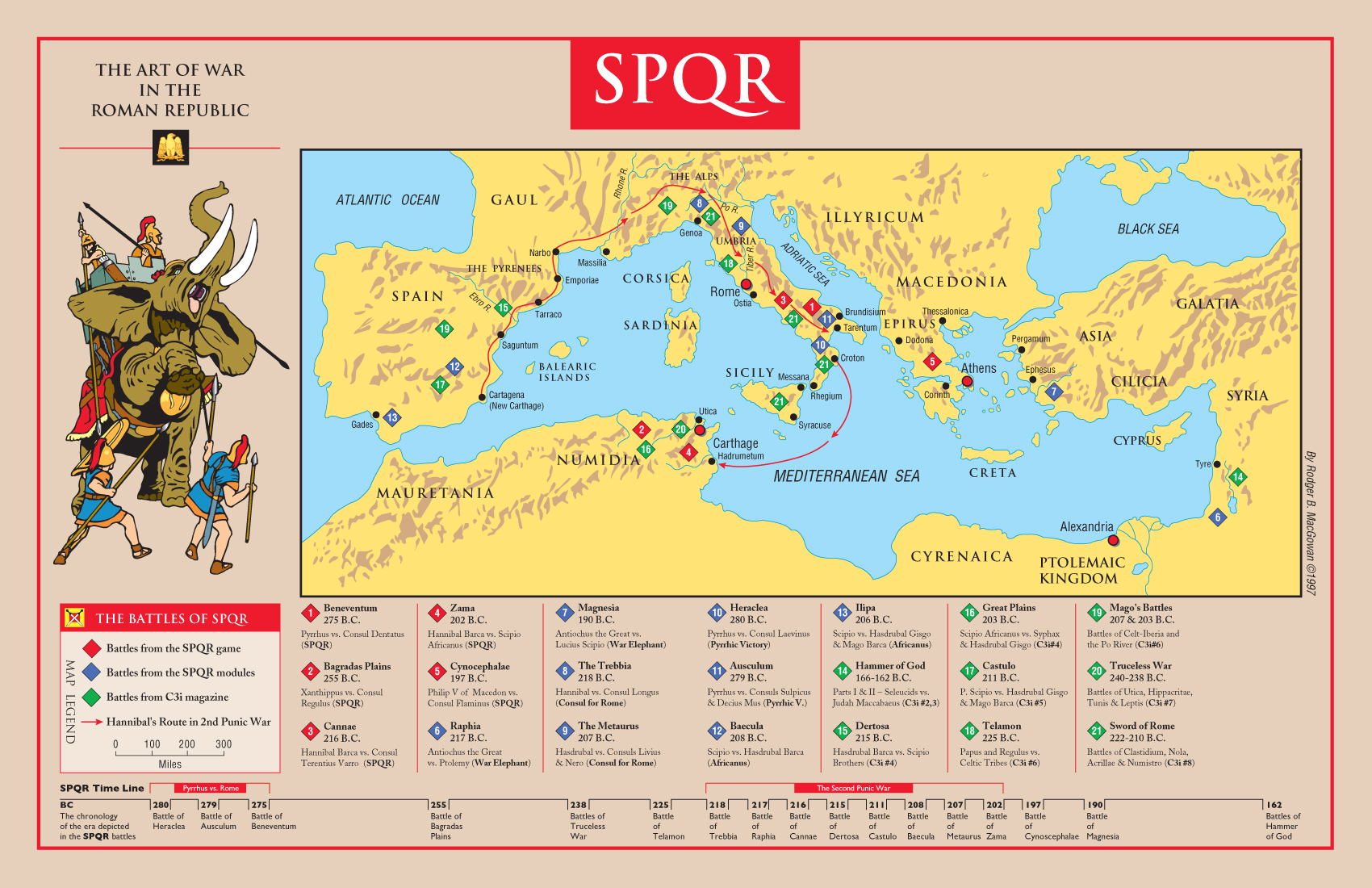 Military Of Ancient Rome - Ancient rome map zama