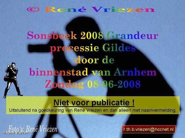 René Vriezen 2008-06-08 #0000 Sonsbeek 2008 Grandeur Gildes in Binnestad Arnhem zo 08-06-2008