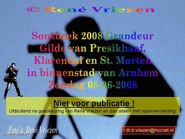 René Vriezen 2008-06-08 #0000 Sonsbeek 2008 Grandeur Gilde Presikhaaf, Klarendal en St. Marten in binnestad Arnhem zo 08-06-2008