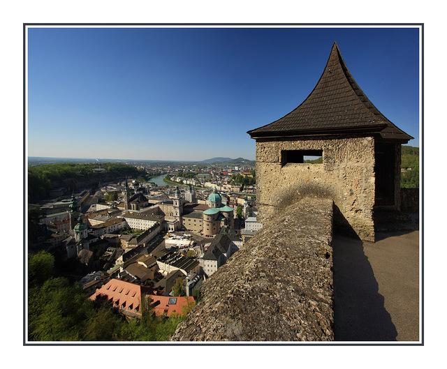 Above Salzburg Austria