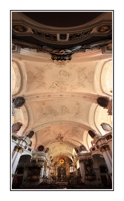 Durstein Abbey Church Austria