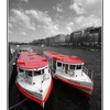 Hamburg red boats - Germany