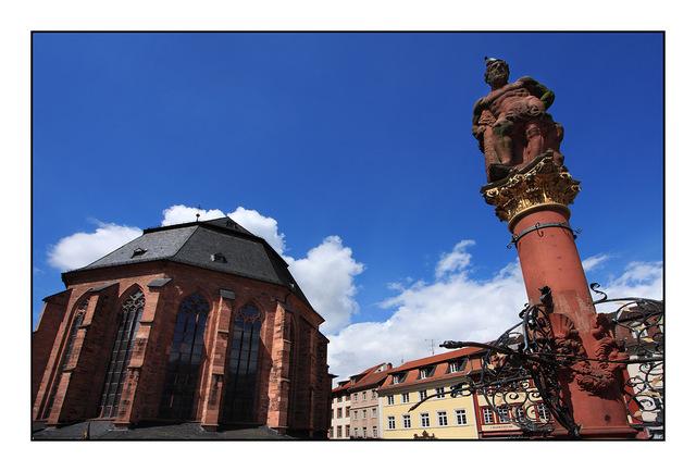 Heiliggeistkirche platz Germany