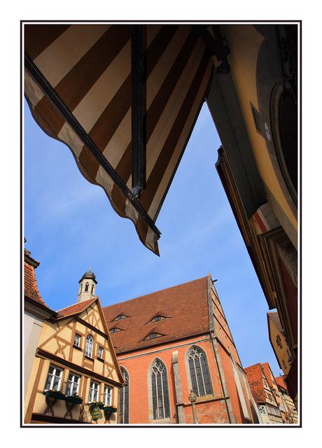 Rothenburg shops Germany