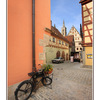 Rothenburg bicycle - Germany