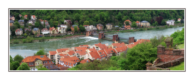 Heidelberg River Austria & Germany Panoramas