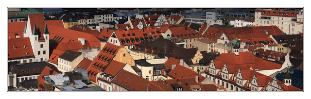Munich Roof Tops Austria & Germany Panoramas