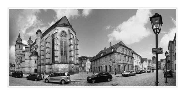 Bayreuth Street Pano Austria & Germany Panoramas