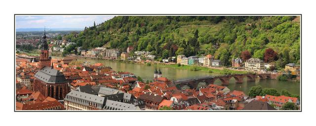 Heidelberg Pano Austria & Germany Panoramas