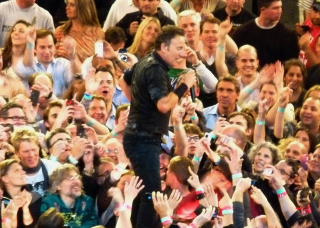 P1190001 Bruce Springsteen - MSG Night2 - 04-09-2012