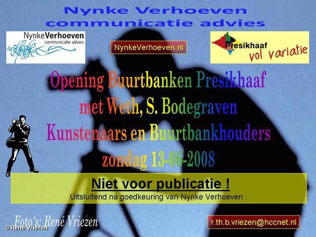 René Vriezen 2008-06-15 #0000 Feestelijke oplevering BuurtBanken Presikhaaf zo 15-06-2008
