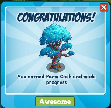 8321384 Harvest Farm Cash with Serve Money Tree!