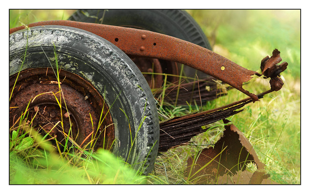 Rusty Wheels 2012 Abandoned
