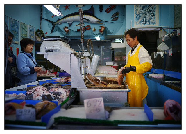 Fish Monger British Columbia Canada