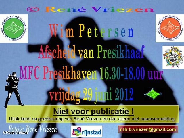 R.Th.B.Vriezen 2012 06 29 4002 Wim Petersen_Afscheid van Presikhaaf in MFC Presikhaven 16.30-18.00u vrijdag 29 juni 2012