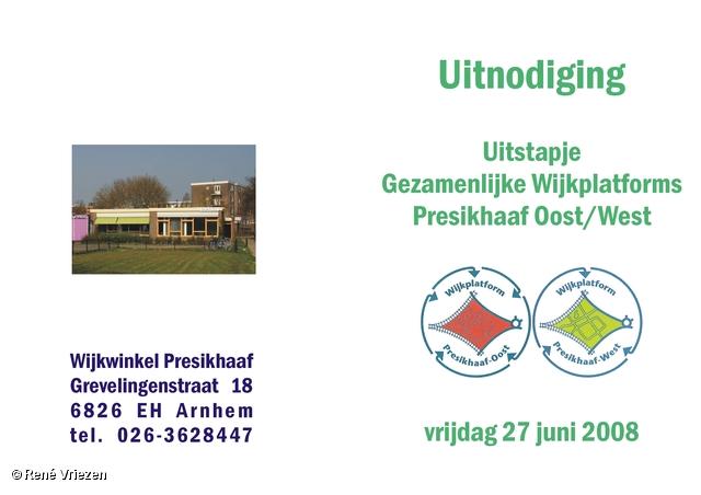 © René Vriezen 2008-06-27 #0000 1 WijkPlatForm Presikhaaf Oost-West Uitstapje vr 27-06-2008