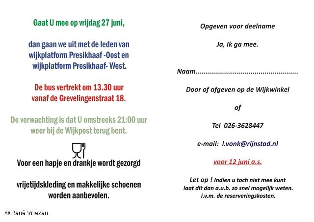 © René Vriezen 2008-06-27 #0000 2 WijkPlatForm Presikhaaf Oost-West Uitstapje vr 27-06-2008