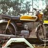Mijn Yamaha in 1973 4 - Foto's uit de oude doos