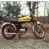 Mijn Yamaha in 1973 2 - Foto's uit de oude doos