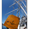 Tall Ship fisheye - Vancouver Island